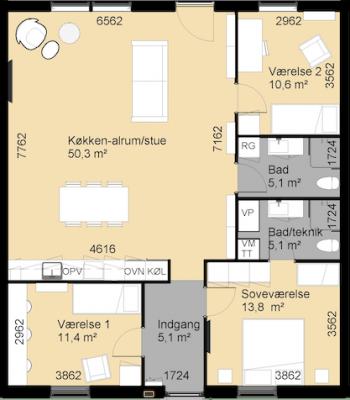 Skodstrup-raekkehus-plantegning-350x400